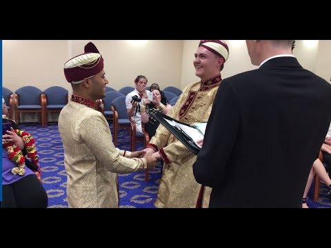 UK's first gay Muslim marriage
