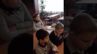 """Фрагмент уроку  музичного мистецтва у 4 класі на тему : """"На гостини до Коломиї"""""""