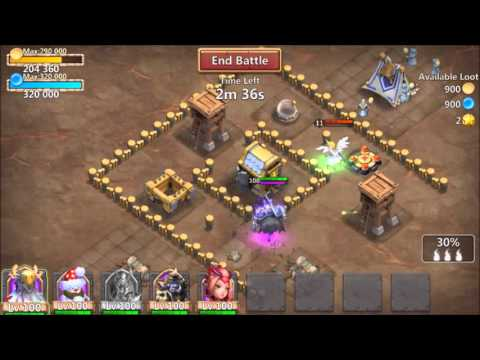 Death Knight Gameplay Castle Clash