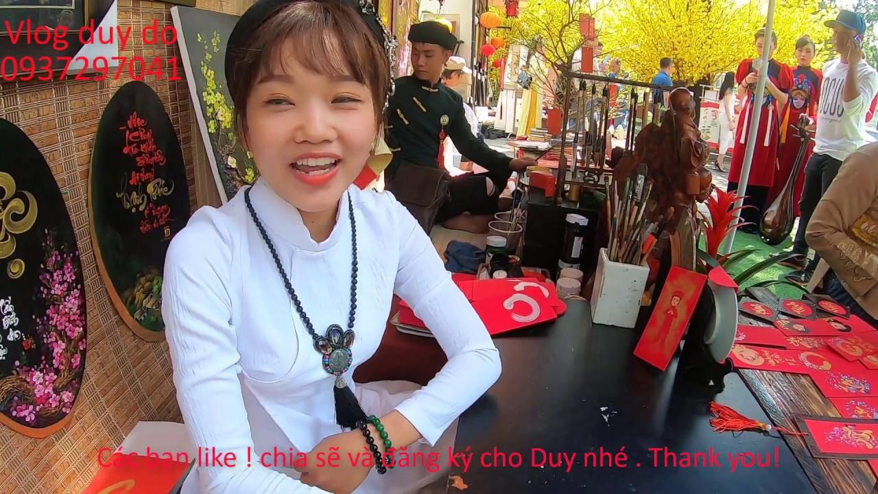 Phố Ông Đồ, Lễ hội tết Việt ! Tại Nhà Văn Hóa Thanh Niên Q 1 TP HCM
