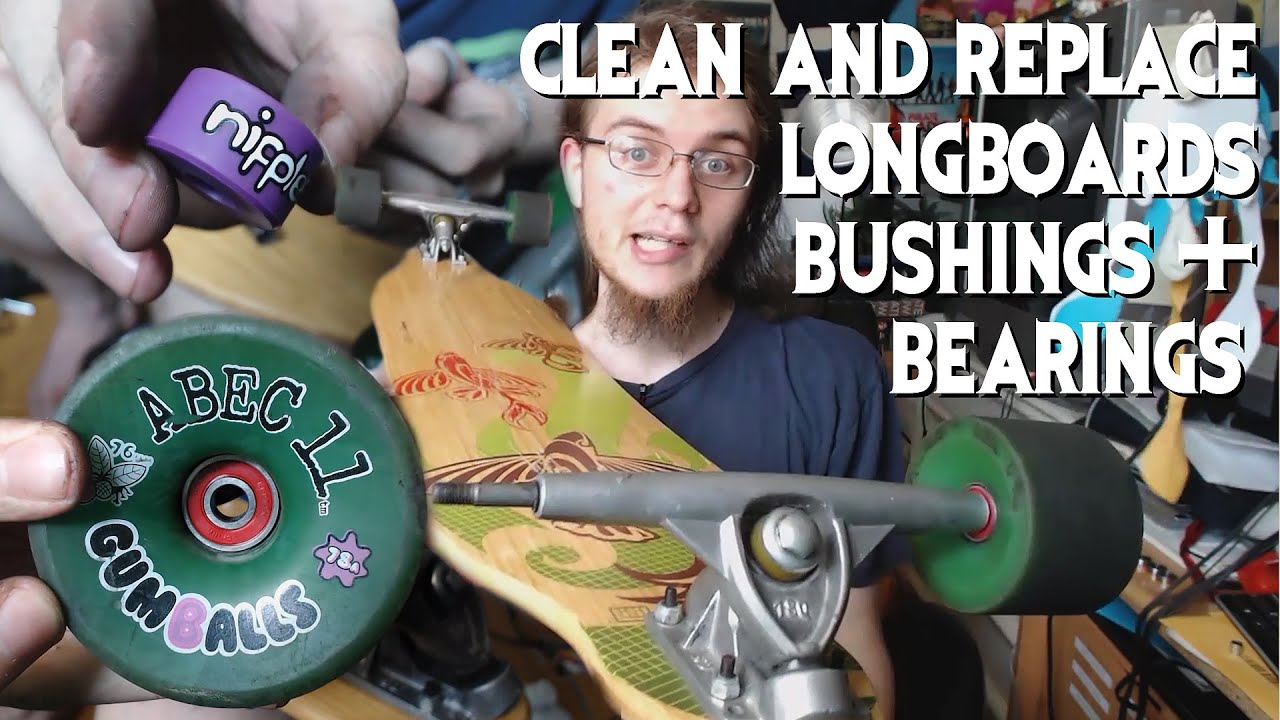 how to clean maintain longboard