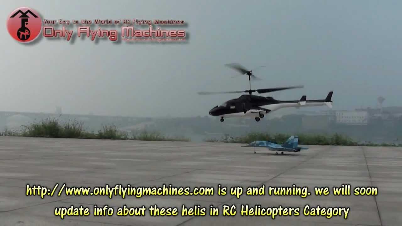 RC Bell 222 Airwolf Maiden Outdoor Flight