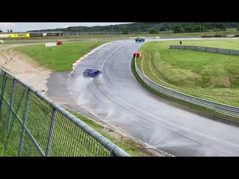 Lexus IS-F drifting at Wachauring