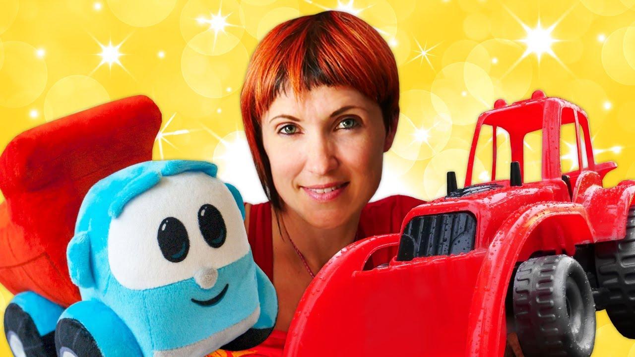 Грузовичок Лева строит домик - Развивающее видео и Маша Капуки. Игры для детей дома.