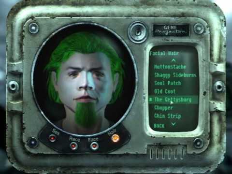 Fallout 3 crash character creation