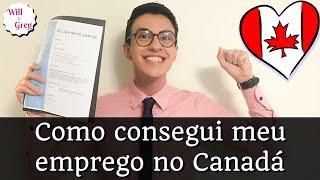 Will e Greg - Como consegui meu primeiro emprego no Canadá