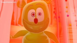 Gummibär SUPER FAST I Want Candy Funny Gummy Bear Song