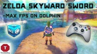 Zelda Skyward Sword MAX FPS (Dolphin + ThrottleStop + Xbox 360 Config Download!)