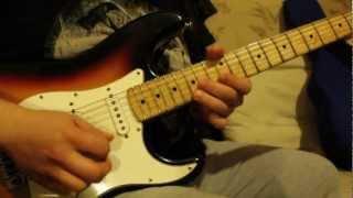 Albachiara - guitar solo - by Mattia Carluccio
