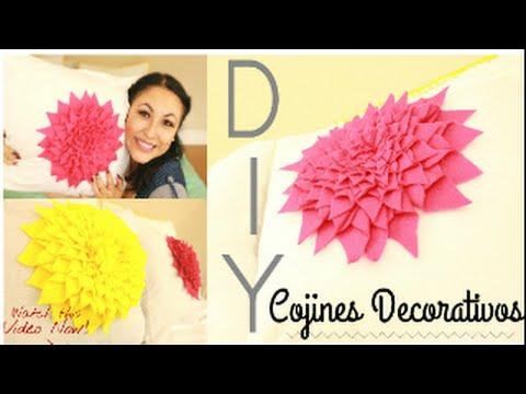 DIY cojines decorativos/easy room decor