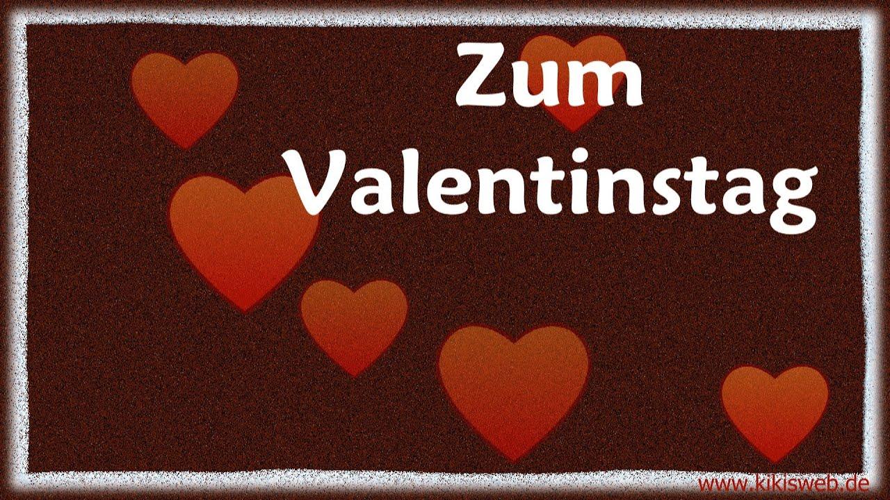 Grüße Zum Valentinstag Youtube