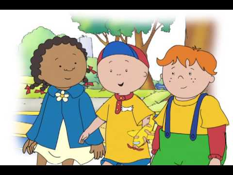 Caillou - Caillou the Patient | Caillou the Police Officer | Grandpa's Friend (S04E17)