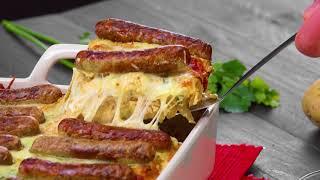 Faites cuire des saucisses et du fromage. Vous ne voudrez plus cuisiner autre chose !