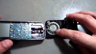 Gravador Sony ICD PX312 como abrir e o que tem dentro