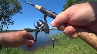 Рыбалка на озере 2020 Пробую ловить леща на фидер Хороший отдых с шашлыком