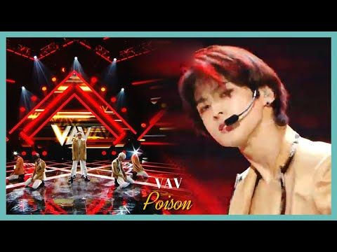 [HOT] VAV   Poison, 브이에이브이   Poison Show Music Core 20191109