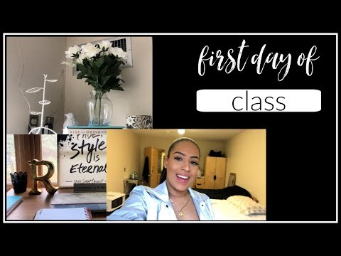 FIRST DAY OF CLASSES | FASHION MERCHANDISING STUDENT | Lasell College