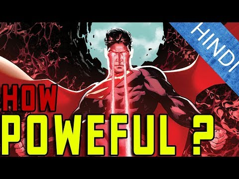 How Powerful Is SUPERMAN ?   Explained In Hindi   DC Comics