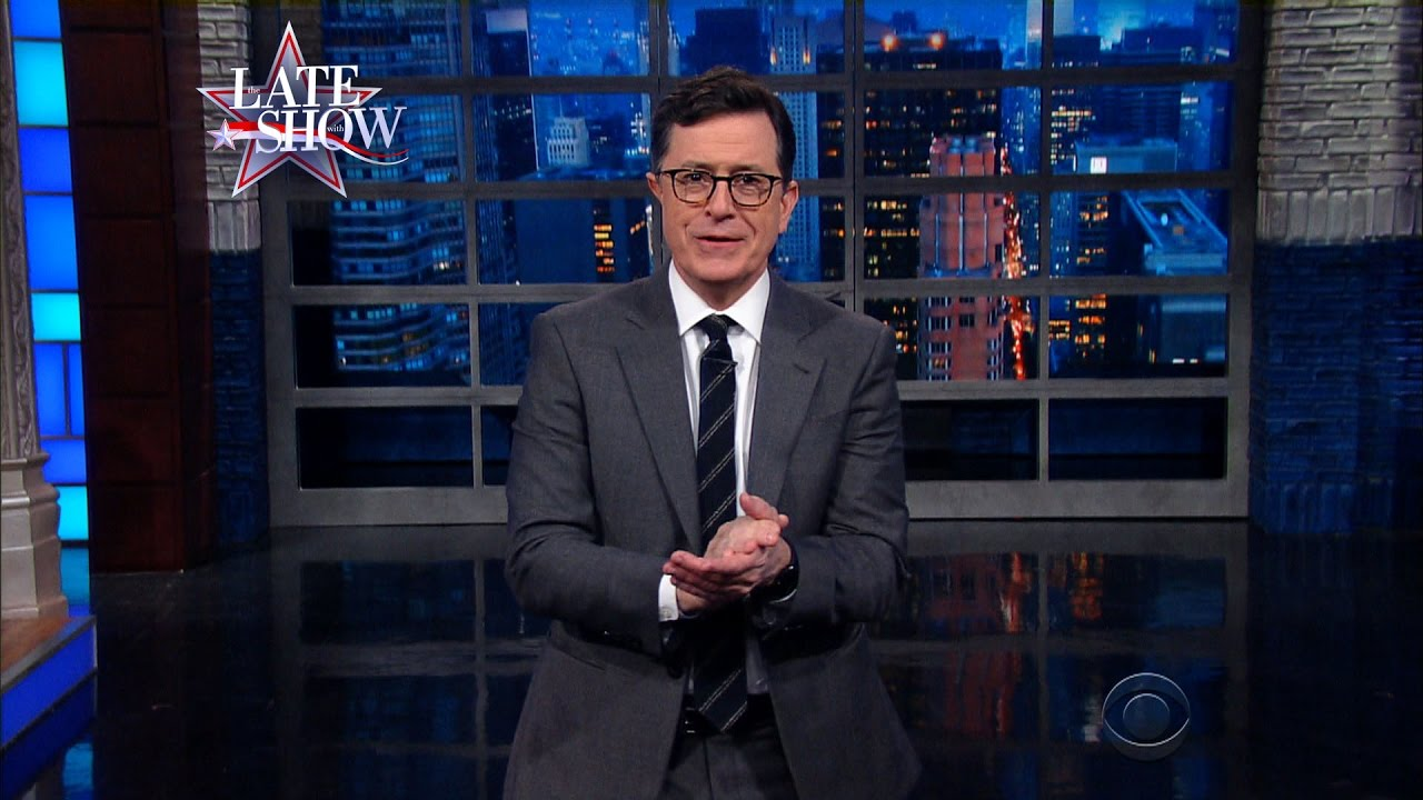 Trump skewered by Stephen Colbert during 'Late Show' monologue