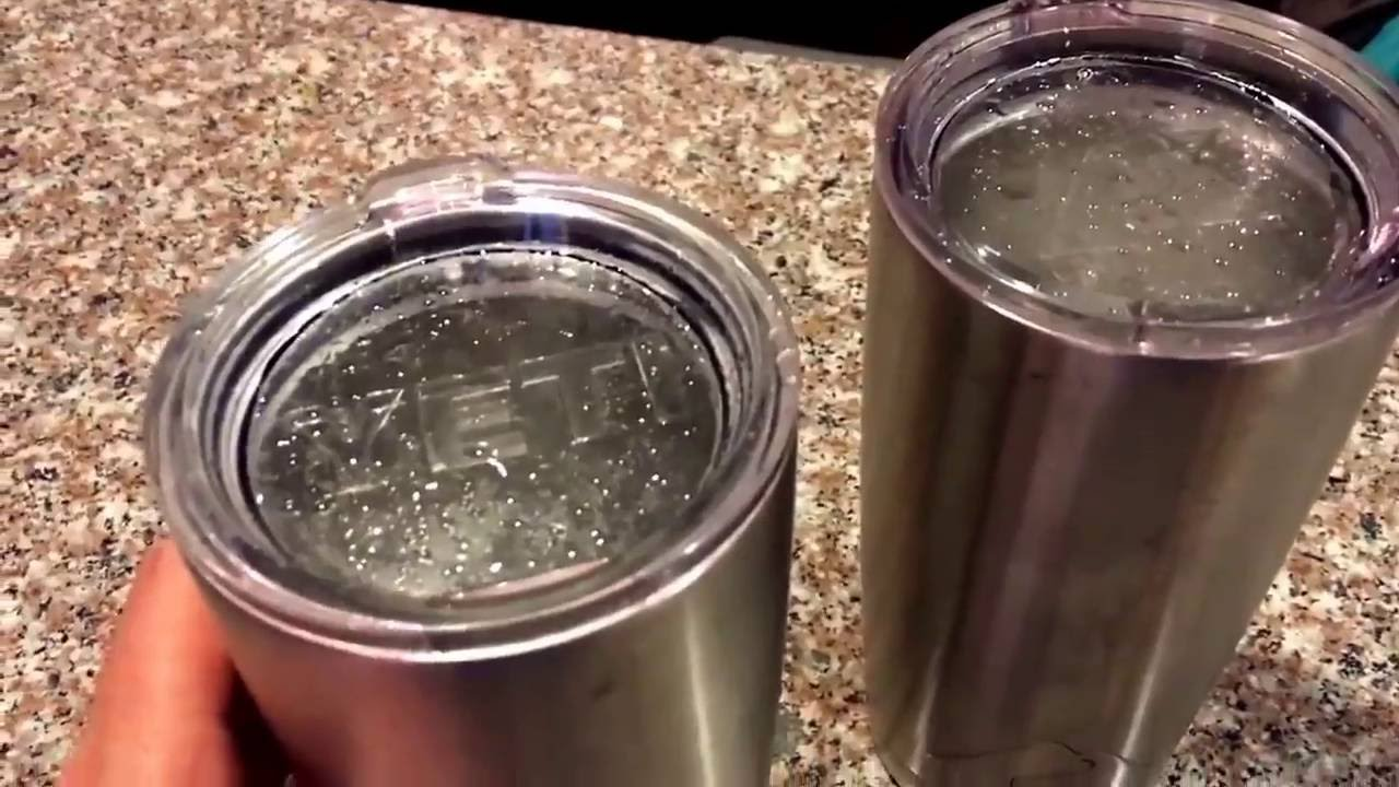 Wal Mart Yeti Tumbler Knock Off Vs Real Yeti Is It Worth A Buck Youtube