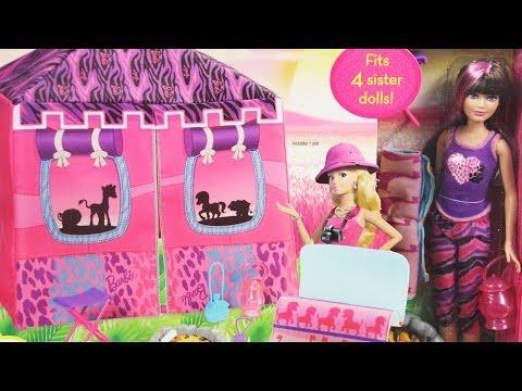Safari Doll and Tent Playset / Wyprawa na Safari - Lalka Skipper i Namiot - Barbie & Sisters