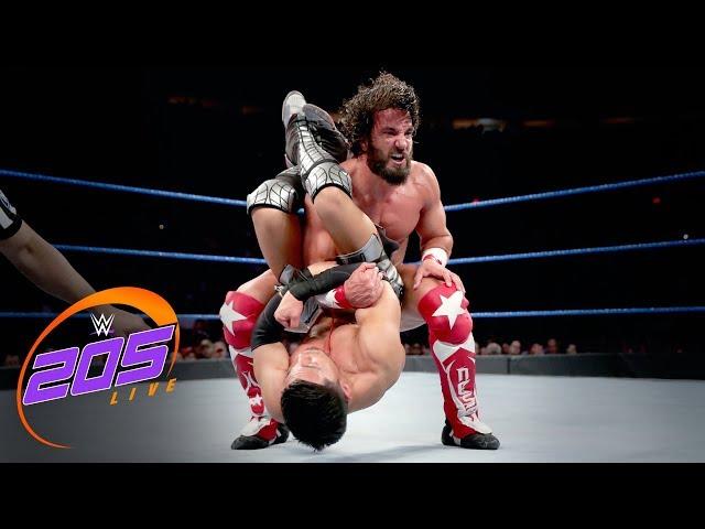 Tony Nese vs. Akira Tozawa: WWE 205 Live, June 25, 2019