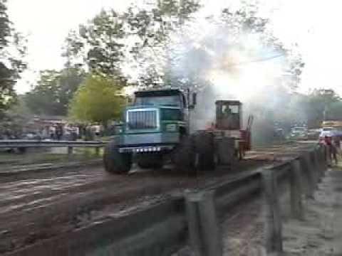 International Detroit Diesel 12v71TT sled pull wheelie