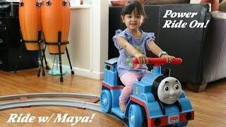 Maya & Thomas The Tank Engine Power Ride On - Power Wheels