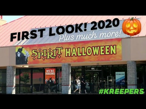 Halloween 2020 First Images SPIRIT HALLOWEEN 2020 First Look! Kreepy Abandoned Places & Much