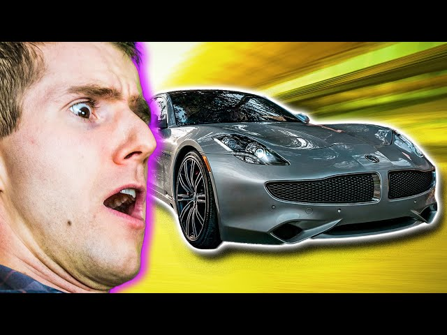 What's so cool about this car's prototype FM RADIO?? - Karma Revero Showcase