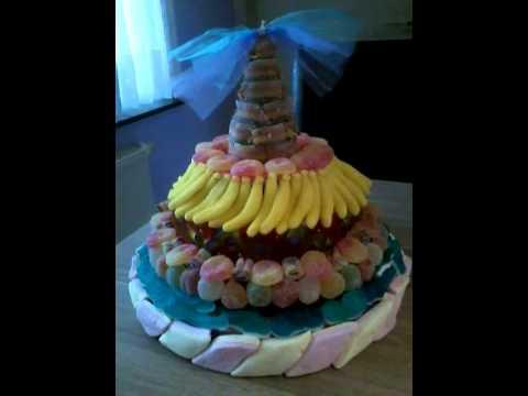gateau de bonbons - youtube