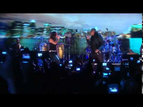 Yay Z feat  Alicia Keys   Empire State of Mind   Live  on YouTube  in New York  HDTV
