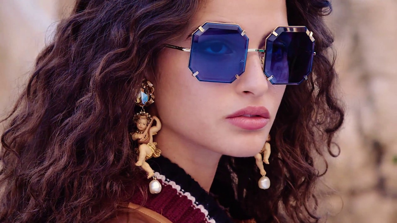 c8297500f7 Dolce Gabbana Fall Winter 2018-19 Eyewear Campaign. - YouTube