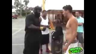 Kimbo slice destroy 2 guys