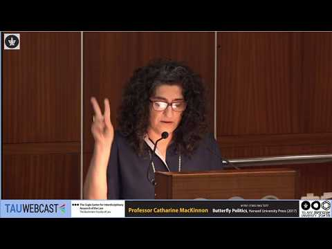 Yofi Tirosh Introduces Catharine MacKinnon at Tel Aviv University, May 2017