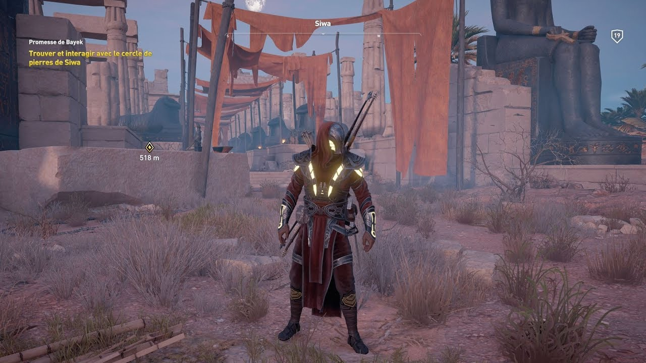 Assassinu0026#39;s Creedu00ae Origins - Isu Armor (outfit) - YouTube