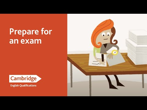 English Language Learning Tips - Prepare for an Exam