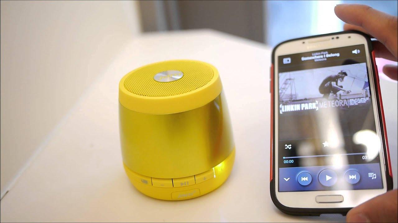 HMDX Jam Plus Wireless Bluetooth Speaker hands-on