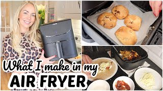 10 AIR FRYER RECIPES    WHAT I MAKE IN MY AIR FRYER FOR BEGINNERS   Emily Norris