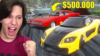 APOSTEI 500.000 DÓLARES EM UM X1 DE DRIFT!! GTA 5 Drift