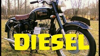Diesel Motorcycles ORIGINALS !!!  Only 3 Ever Built !!!