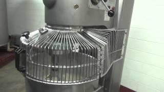 Hobart 140 Quart Vertical Mixer Demonstration