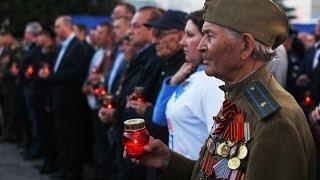 Туляки зажгли свечи в память о погибших в Великой Отечественной войне 22 06 2015