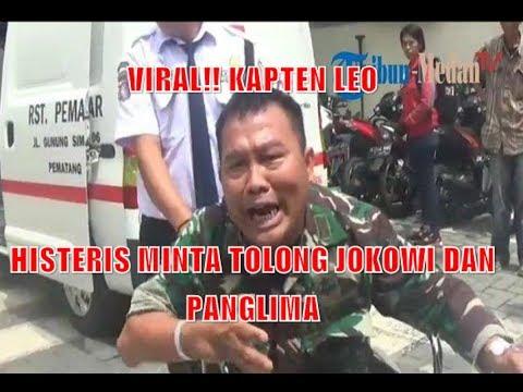 INI JAWABAN RS TNI, SOAL KAPTEN LEO HISTERIS MINTA TOLONG PRESIDEN DAN PANGLIMA TNI