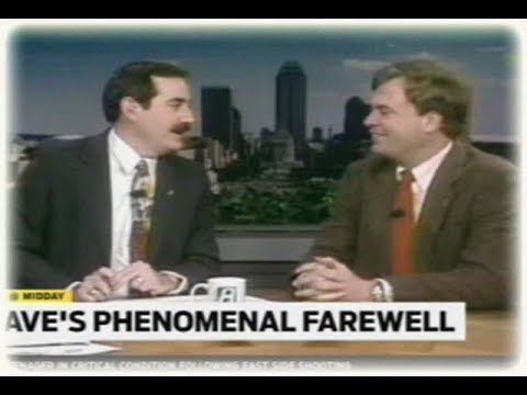 Dave' Phenominal (as you might expect) Farewell