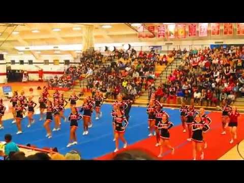 Midnight Maddess- ESU Cheerleading 2015