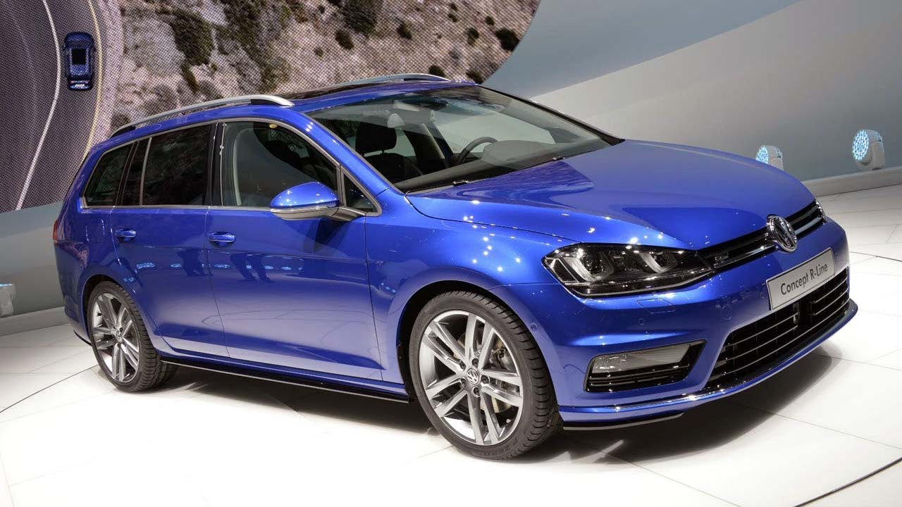 2013 volkswagen golf variant r line concept 4motion on 18. Black Bedroom Furniture Sets. Home Design Ideas