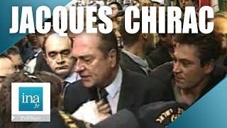 Jacques Chirac : incident sécurité à Jérusalem - Archive vidéo INA
