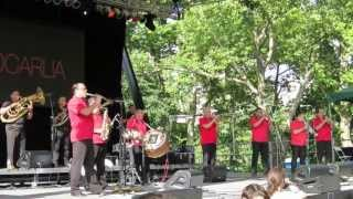 fanfare ciocarlia concert at summer stage central park new york 2013
