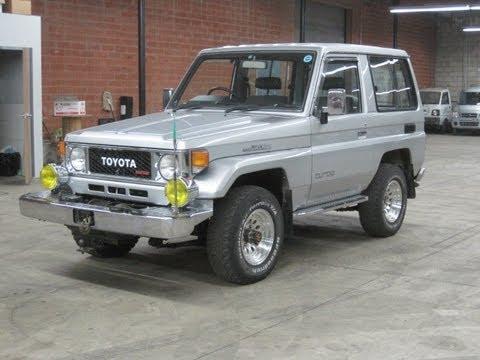 Toyota Land Cruiser Diesel >> 1987 Toyota Land Cruiser BJ71V silver Turbo Diesel SOLD - YouTube